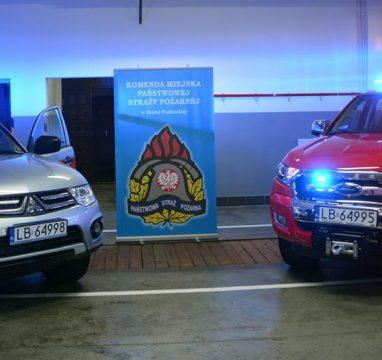 Przekazanie Dwóch Samochodów Specjalnych – JRG Małaszewicze