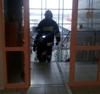 Sprawdzenie warunków ewakuacji – Terminal w Koroszczynie
