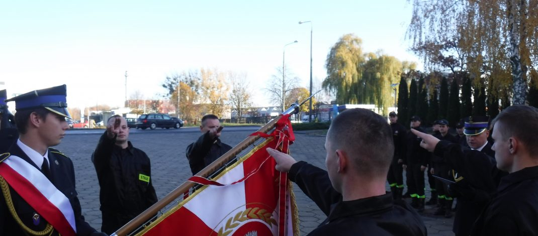 Ślubowanie strażaków w KM PSP w Białej Podlaskiej